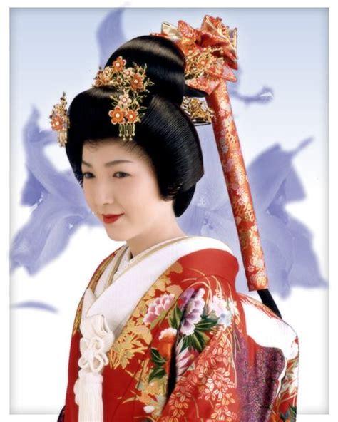 Traditional Japanese Hairstyles by Japan Edo Era Bunkin Takashimada Sagegami Traditional