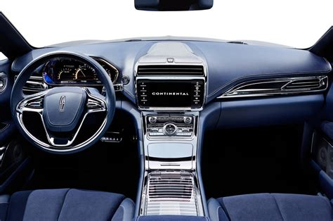 lincoln interior lincoln continental concept look motor trend