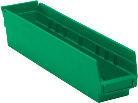 Plastic Shelf Bins by Nesting Plastic Shelf Bins Qsb103 Small Parts Storage
