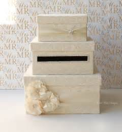 wedding card holder lace wedding card box money box card holder custom made