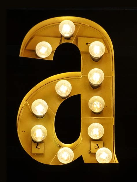 letter a images free photo letter a letter light bulbs free image on