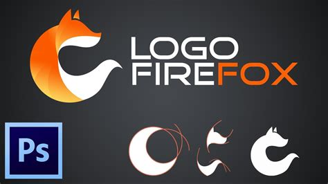 photoshop tutorial firefox logo tutorial how to make logo firefox with adobe photoshop