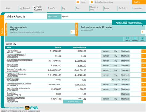 fnb revs online banking techcentral