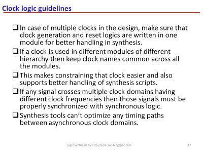 vlsi layout guidelines asic system on chip vlsi design clock logic guidelines