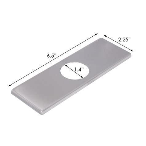 Bathroom Sink Cover by Elite Fp05c Chrome Bathroom Sink Faucet Cover Deck