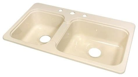 kitchen sink manufactured mobile home acrylic 7 25 quot deep