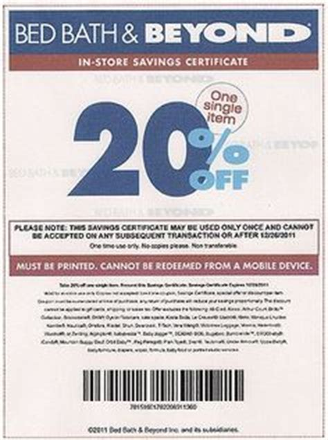 Bed Bath Coupon by 1000 Images About Bed Bath And Beyond Coupons On