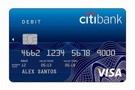 Citibank Prepaid Visa Gift Card - image gallery debit card