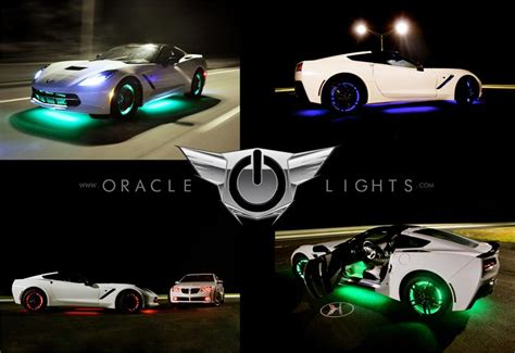 Oracle Wheel Lights oracle lighting led wheel light rings set of 4 led car lights by oracle