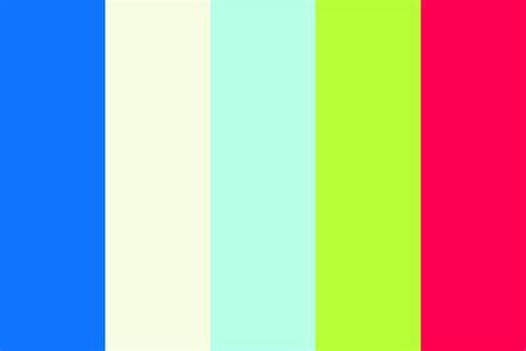 color schemes tropical summer color scheme 3 color palette