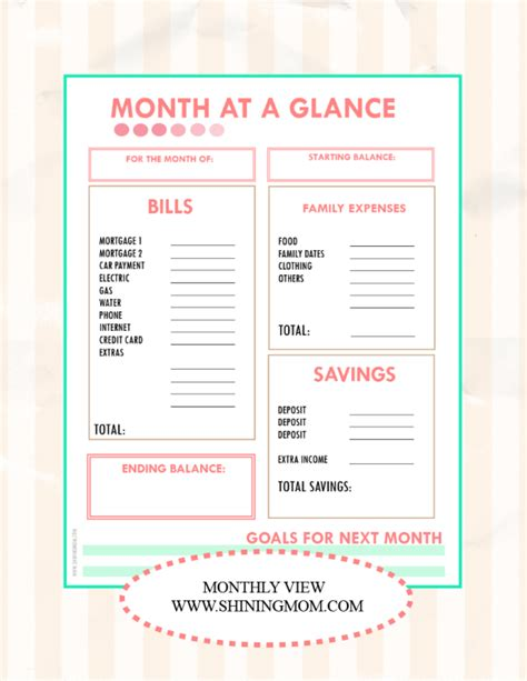 month at a glance calendar template 2015 16 printable academic calendar calendar template 2016