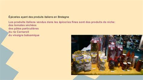 etude de march 233 cuisine italienne et bretonne