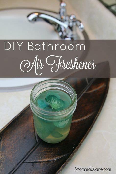 diy bathroom deodorizer diy bathroom air freshener made with gelatin and essential