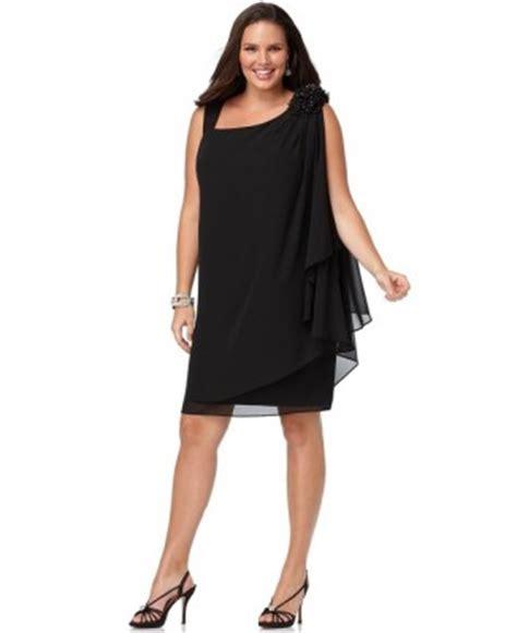 Tas Noche Black vestidos de largos vestidos casuales para gorditas