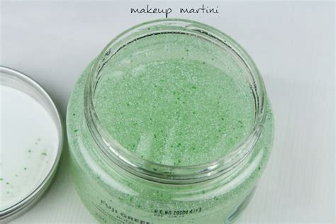 Parfum Fuji Green Tea Shop the shop fuji green tea scrub review makeupmartini