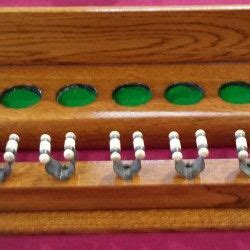 B559 Brown 85 best images about antique snooker cue racks on