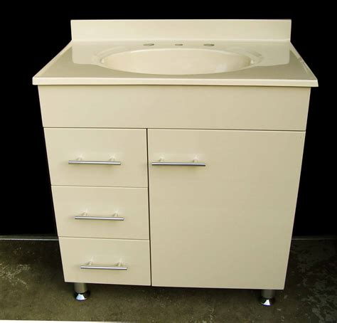 Coloured Bathroom Vanity Units by Daedalus Wpl750l 760x460mm Ivory Color Polyurethane Vanity Unit With Australian Made Ivory Color