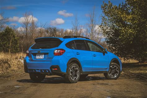blue subaru crosstrek review 2016 subaru crosstrek canadian auto review