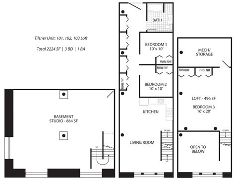 loft style apartment floor plans warehouse loft apartment floor plans