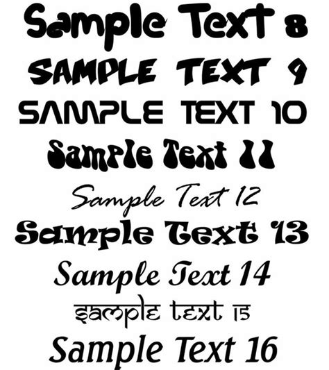 String Font - text styles