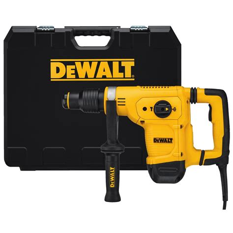 dewalt 10 5 1 1 8 in corded sds max chipping concrete