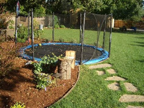 how much to landscape a backyard how much does an in ground troline cost