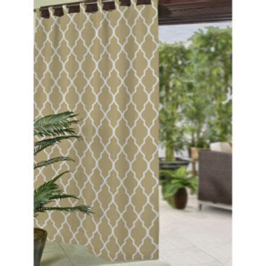 jcpenney outdoor curtains corado ogee tab top indoor outdoor curtain panel found at