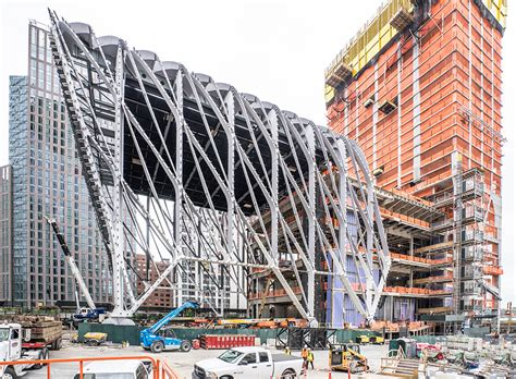 Sheds New York by The Shed By Ds R And Rockwell Takes Shape In New York