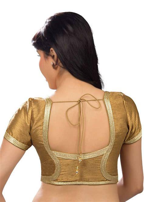 Blouse Fashion Bordirr buy copper banglory lace border unstitched blouse