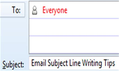 how to write informative email subject lines