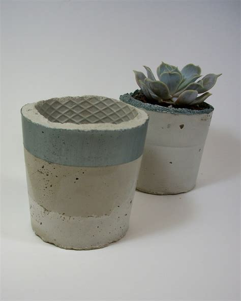 Pots And Planters by Dachshund In The Desert Handmade Concrete Planters
