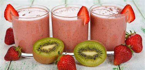 Strawberry Kiwi Detox Smoothie by Kiwi Strawberry Smoothie All Nutribullet Recipes