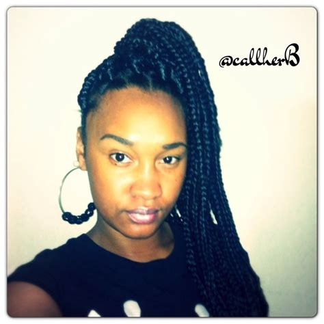Jumbo Box Braids Short Hairstyle 2013 | jumbo box braids short hairstyle 2013