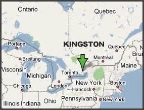 kingston canada map