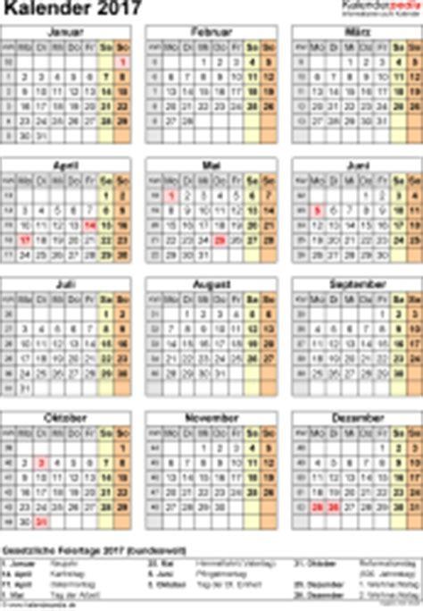 Kalender 2016 Jahresansicht Kalender 2017 Zum Ausdrucken In Excel 16 Vorlagen