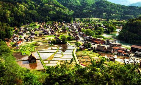 small villages in usa shirakawa go town series small flamboyant towns painted