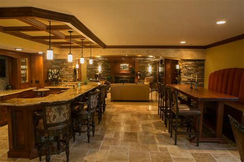 image detail for basement rec room designs tuscan living tuscan style traditional basement detroit by