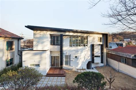 modern home design korea modern naegok v house in seoul korea