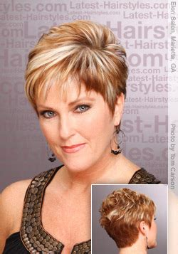 hairstyles for an 85year woman over 50 with ashort chic hair do for older women