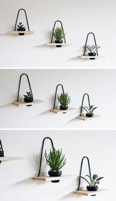 modern wall mounted plant holders  decorate bare