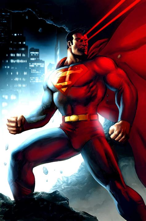 painting superman superman by jprart on deviantart