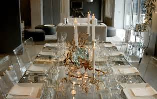 Dining Table Decorations Modern Modern Thanksgiving Table