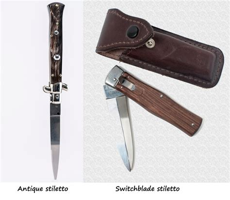 the history of knives learning the history and information of the stiletto knife