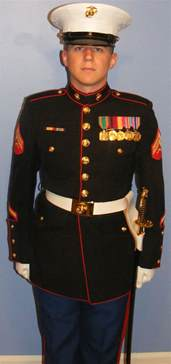 us marine corps dress blue uniform quotes