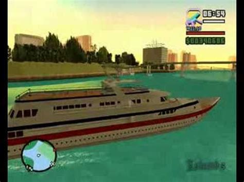 grand theft auto san andreas vice city mod yacht driving youtube