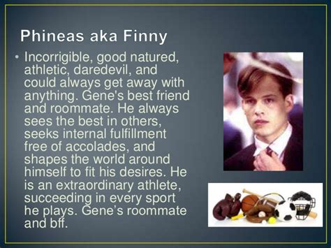 finny quotes from a separate peace