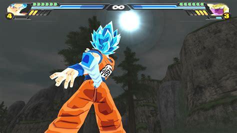 mod game dragon ball z budokai tenkaichi 3 goku ssjgssj oozaru vs golden freeza dragon ball z