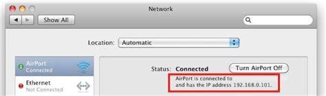 Lan Ip Address Finder Get Your Lan Ip Address In Mac Os X Guide 29 Tutorials Articles