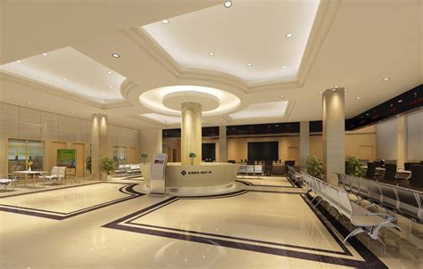 service ceilings and lighting design rendering