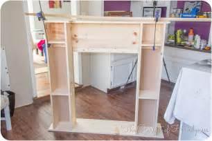 kamin basteln diy faux fireplace tutorial myideasbedroom